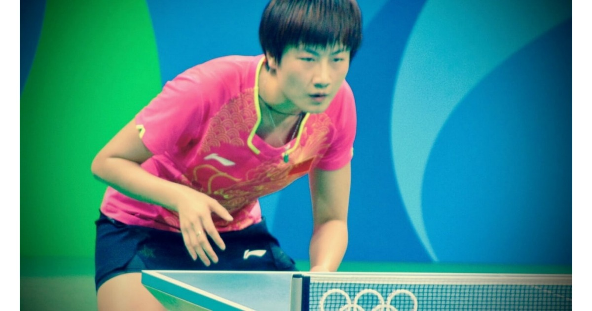 Ding Ning the current womens world number 1 table tennis player