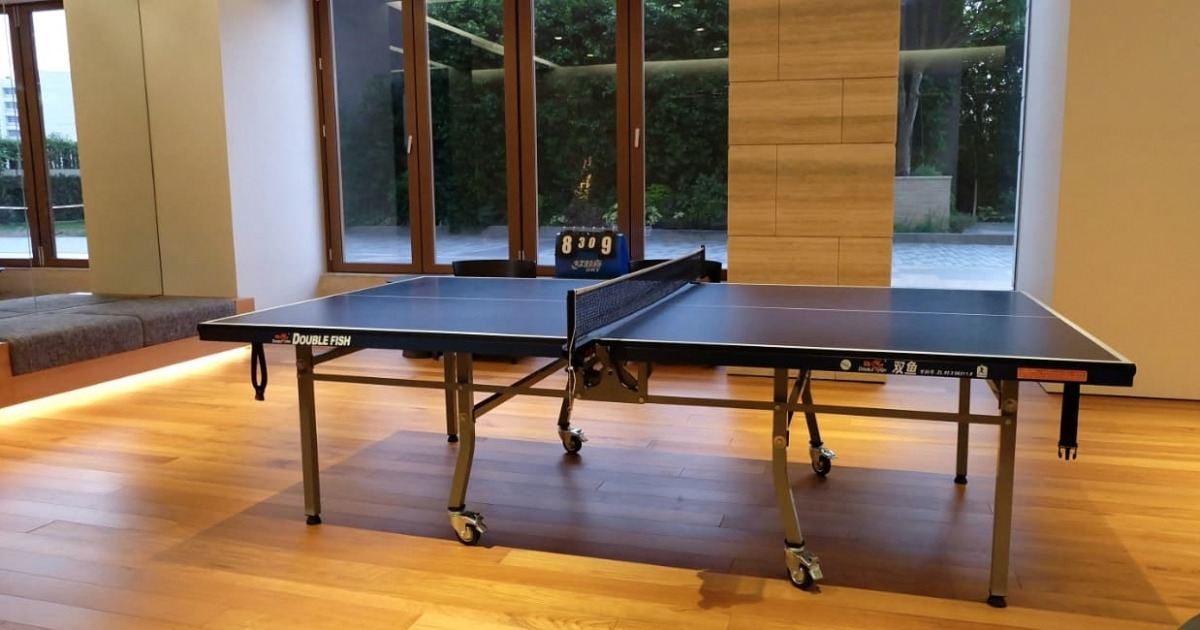 Can Ping Pong Improve The Work Environment?