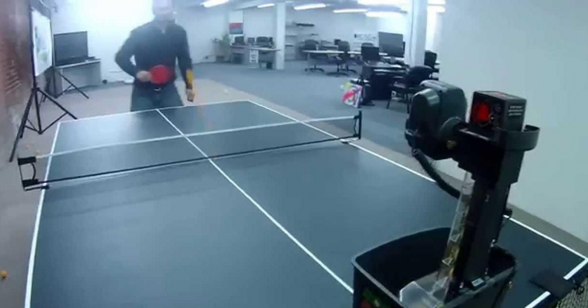 The Best Portable Table Tennis Robot Review of Newgy 540 Model