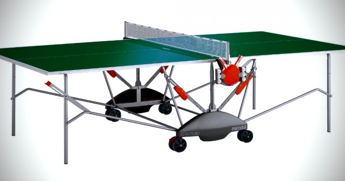 Kettler Match 5.0 Outdoor Ping Pong Table