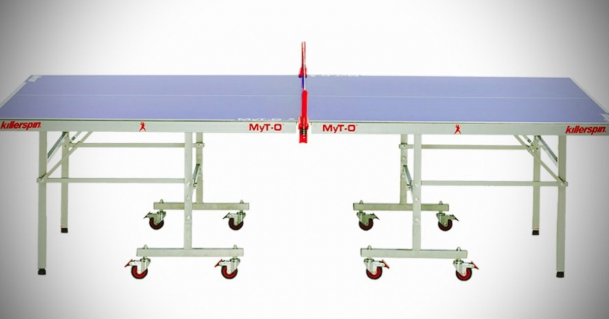 Killerspin MyT-O Outdoor Indoor Ping Pong Table Image