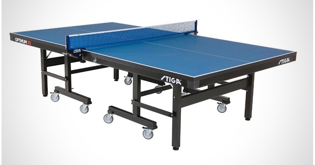 STIGA Optimum 30 Ping Pong Table Full Image