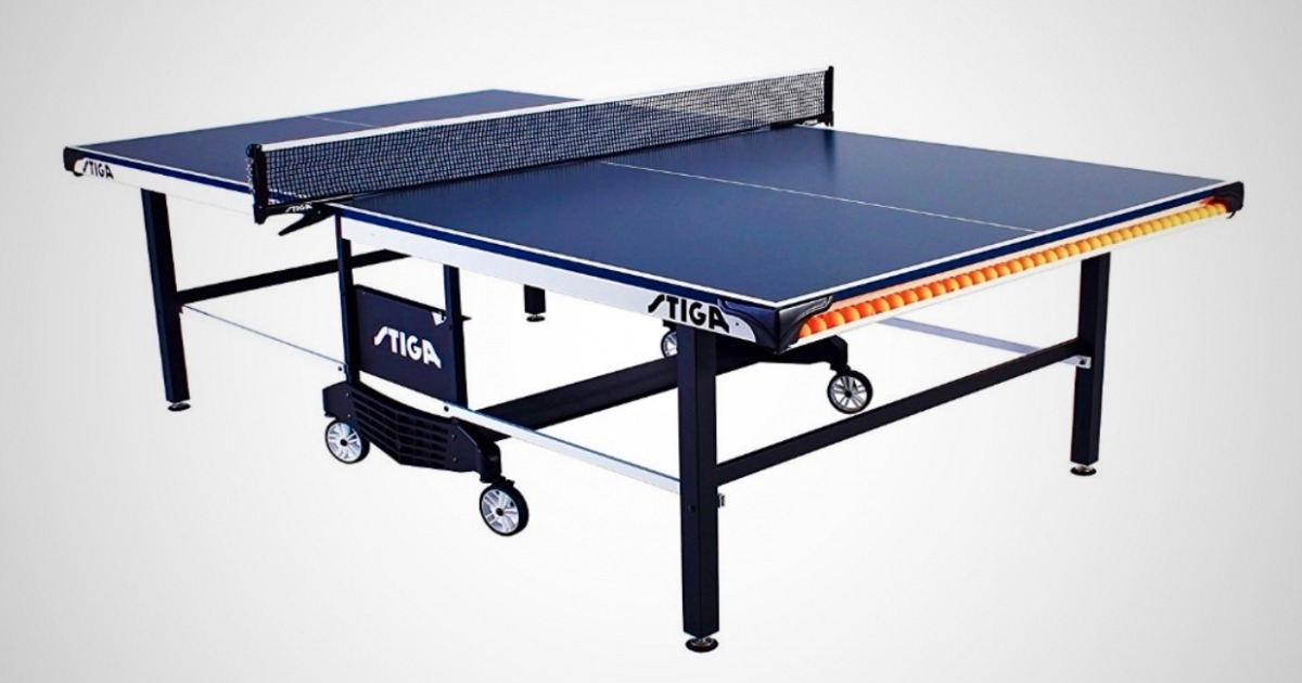 Stiga STS 385 Ping Pong Table - Indoor Ping Pong Table