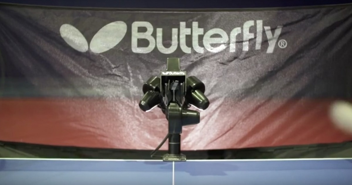 Butterfly Amicus Basic Ping Pong Robot Review