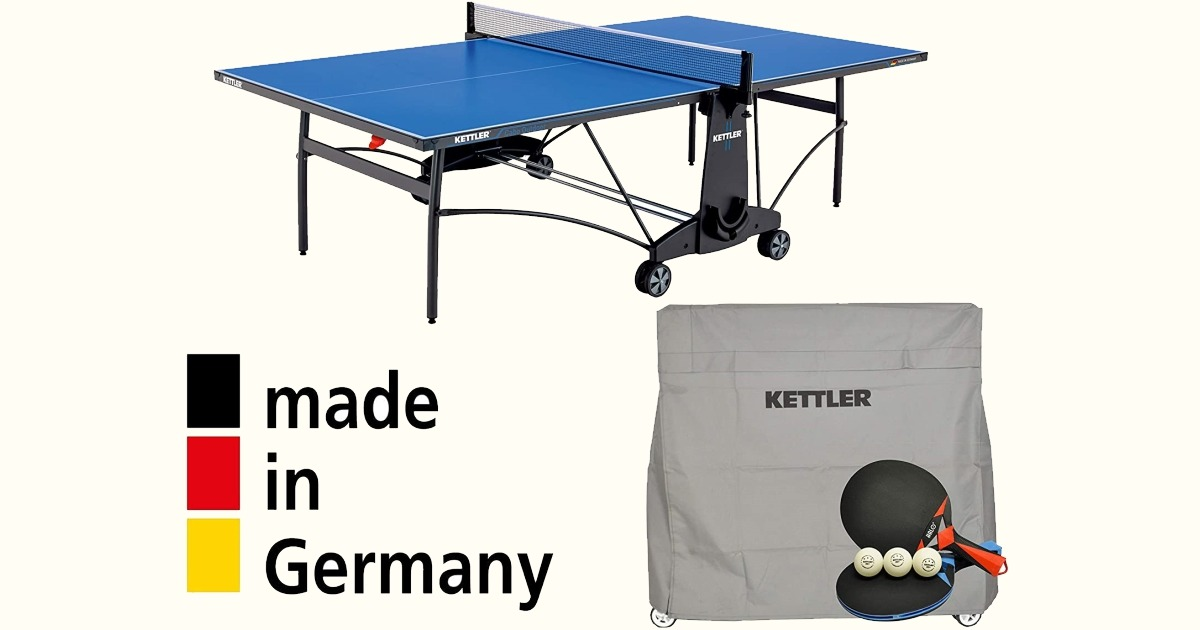 Kettler Cabo outdoor Table Tennis Table Bundle Review