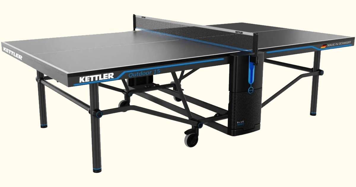 Kettler Outdoor 15 Table Tennis Table Ready to Play Premium Bundle Review