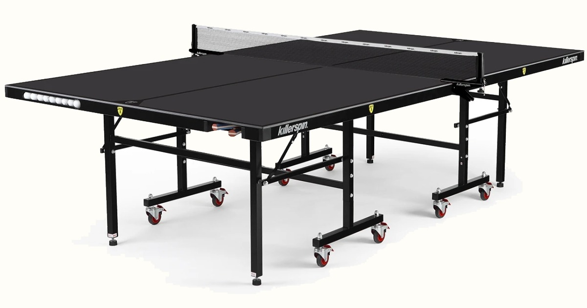 Killerspin MyT10 Outdoor Ping Pong Table With Net Post Set Review