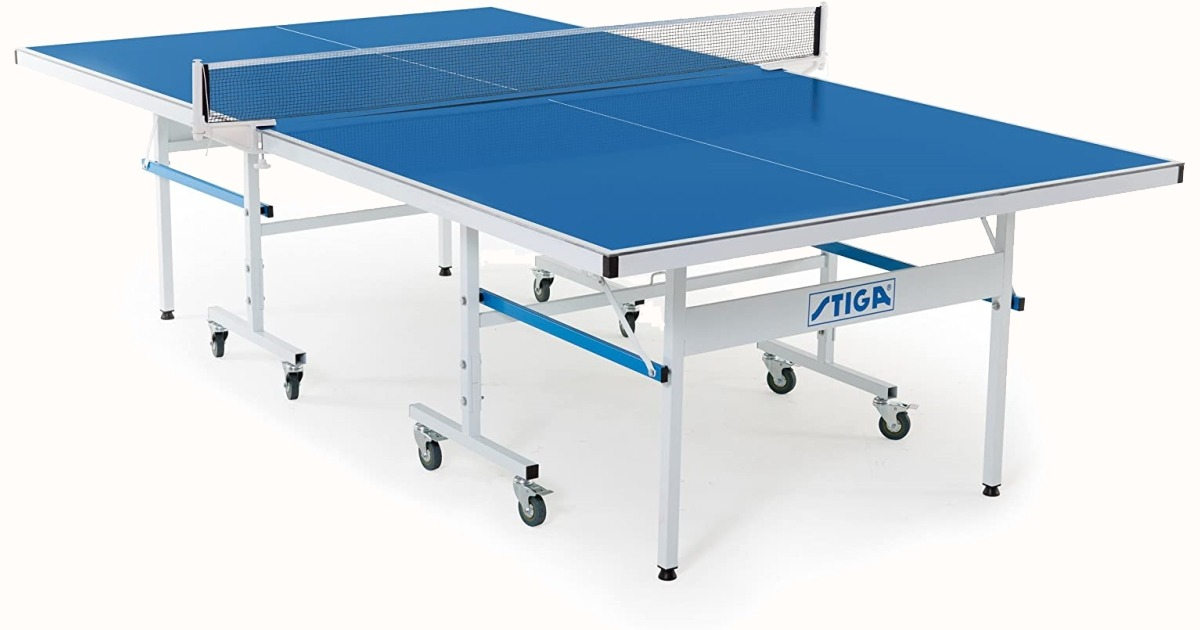 The Stiga XTR Outdoor Table Tennis Table With Net