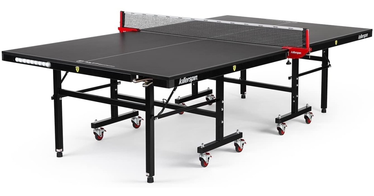 Killerspin MyT7 Pocket Black Ping Pong Table