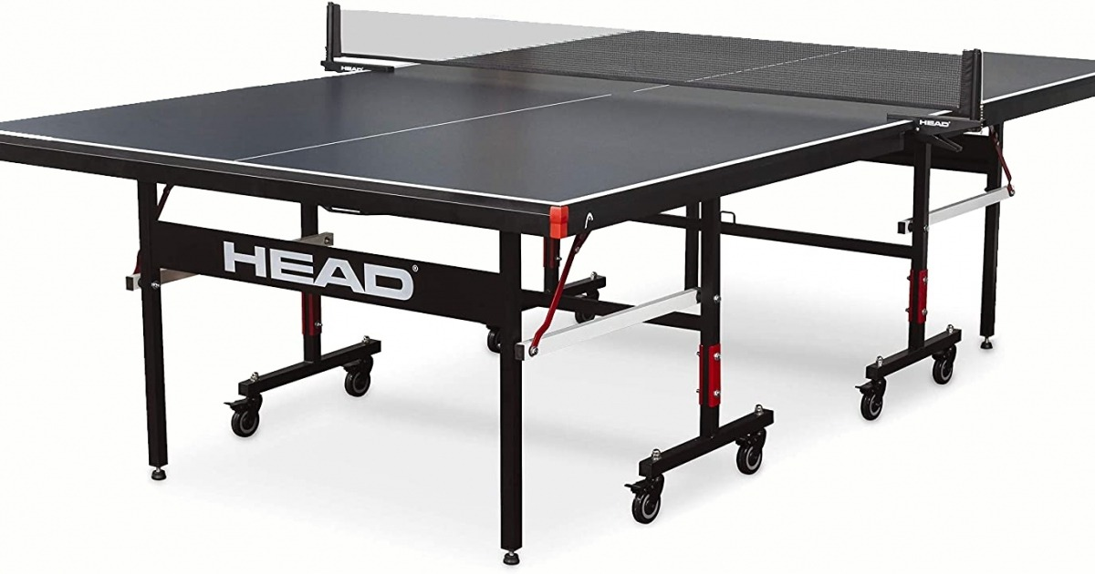 Buy the Head Summit Matte Black USA TT Approved Indoor Ping Pong Table