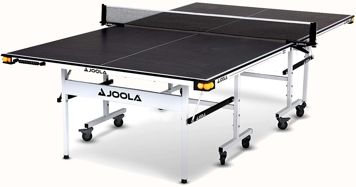 Joola Rally TL Indoor Table Tennis Table with Scoring Abacus, Net Set & Ball Holders