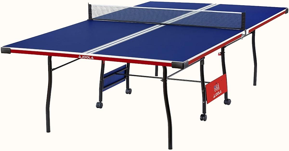 JOOLA Liberty Americana Lightweight 15mm top Indoor Ping Pong Table