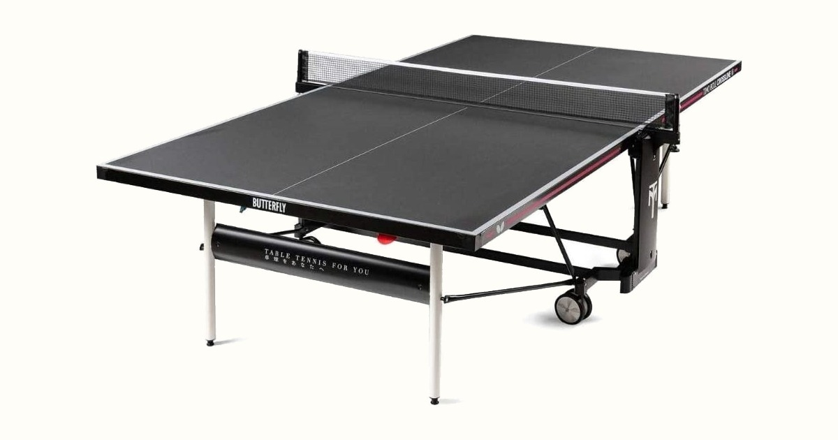 Butterfly Timo Boll Crossline Outdoor Ping Pong Table with Net Review