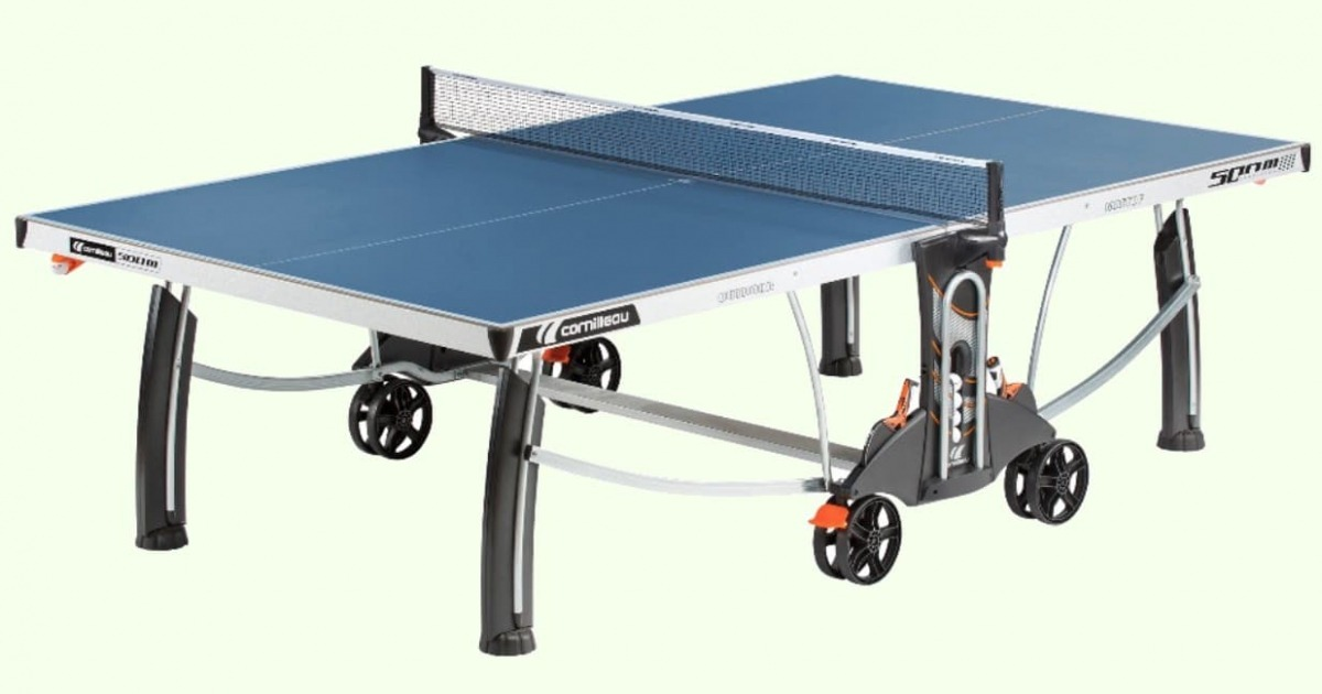 Cornilleau Sport 500M Outdoor Ping Pong Table Review Storage Solution