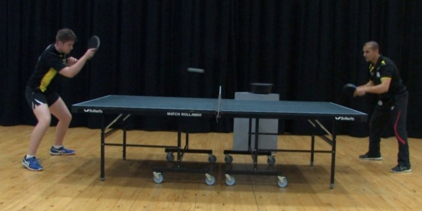 Ping Pong Tip - Footwork Exercise By Eli Baraty