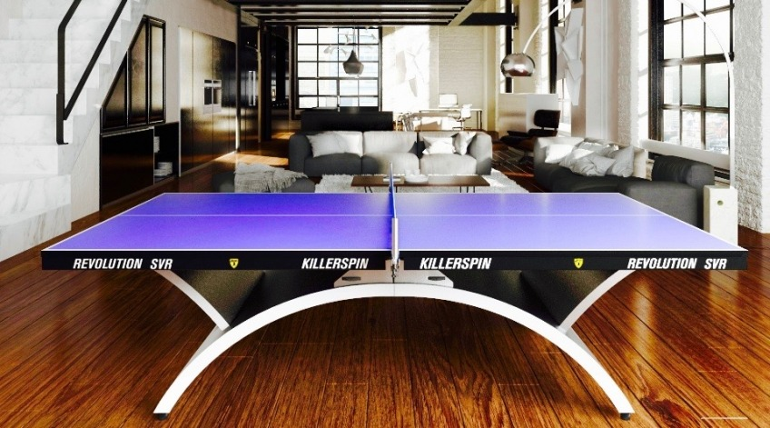 Killerspin Revolution SVR Table Tennis Table apartment view