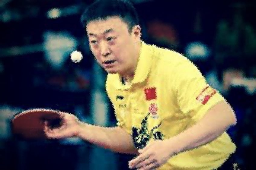 Ma Lin is A Chinese Grand Master of Table Tennis