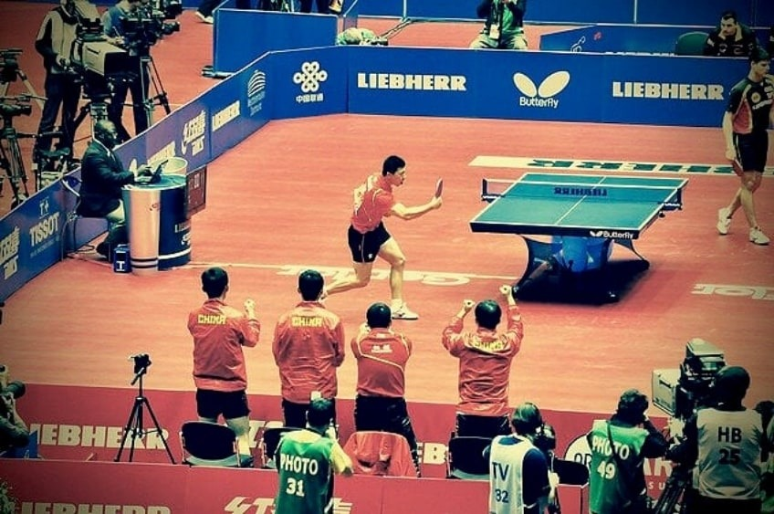 Xu Xin Is an Unbeatable World Number 2 Chinese Ping Pong Player