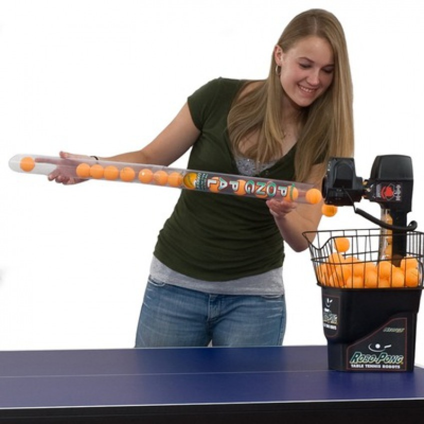 Review of The RoboPong 1040 Best Table Tennis Robot