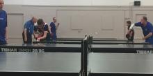 Table tennis club - close shot
