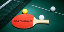 Table tennis rules - our handy guide to ping pong rules