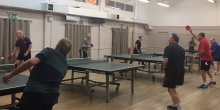 Getting fit with Ping Pong and setting a New Year Resolution goal