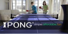 ipong table tennis robot review - fun with family ping pong game