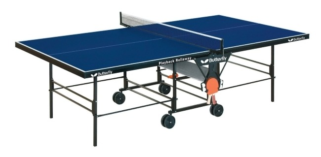 Choosing The Best Outdoor Table Tennis Tables Review Butterfly TW24B Playback