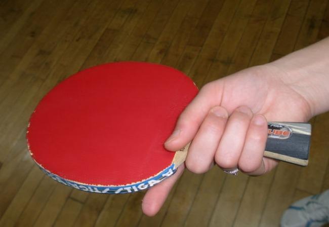 best table tennis tables handshake grip