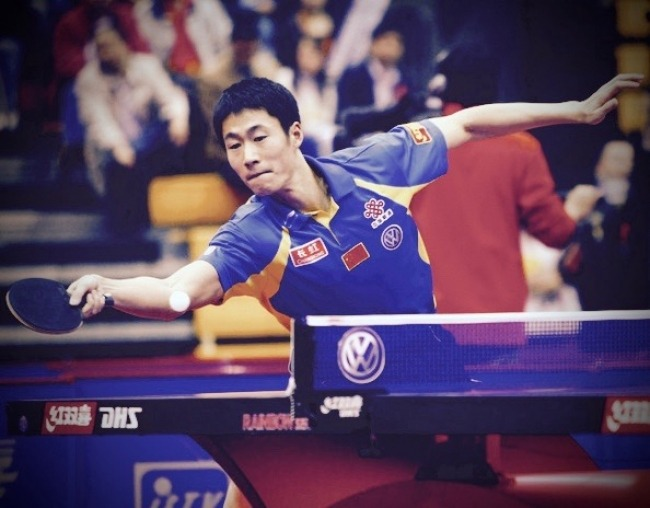 Chinese Olympic Table Tennis Player