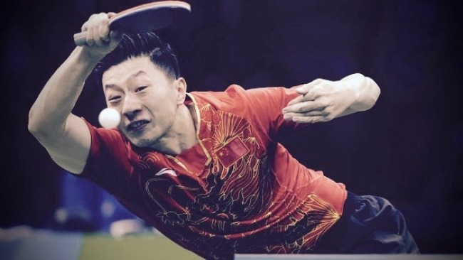 Ma Long World Number 1 Table Tennis Champion