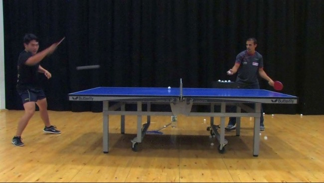 Ping Pong Multi-Ball Training