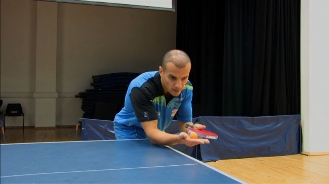 How To Do a BackSpin Serve coaching Video by Eli Baraty Best Ping Pong Table Reviews