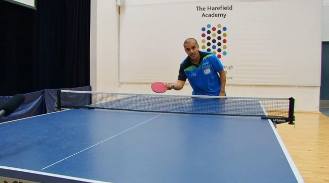 How Do I Do A Backspin Serve in Table Tennis? Tutorial Video