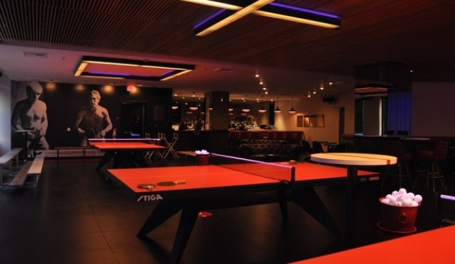 SPiN Table Tennis Club Downtown Los Angeles