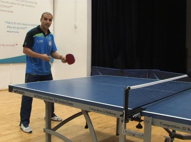 How To Do A Forehand Drive In Table Tennis With Eli Baraty Pro Coach