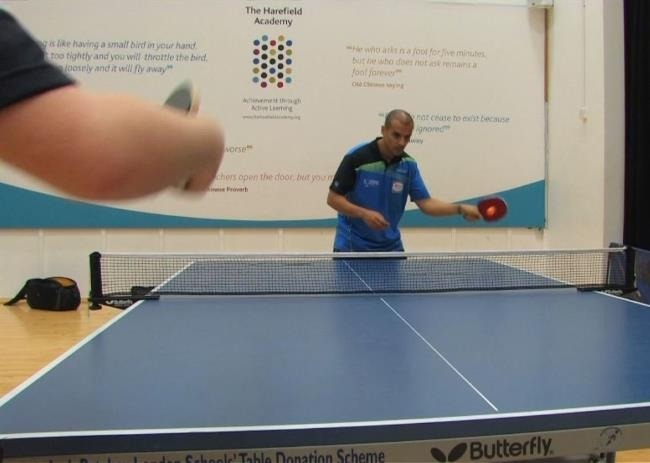 Ping Pong Coaching Video Tutorial With Eli Baraty - Forhand Drive