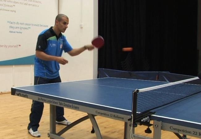 Eli Baraty Shows How To Master The Forehand Drive in Table Tennis