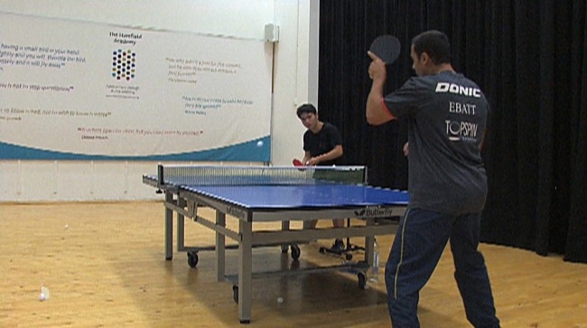 The Forehand Open UP Technique and Table Tennis Tip