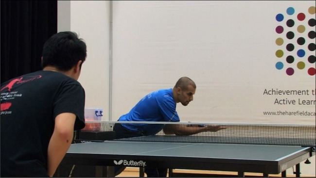 A Ping pong Backspin Table Tennis Serve by Eli Baraty