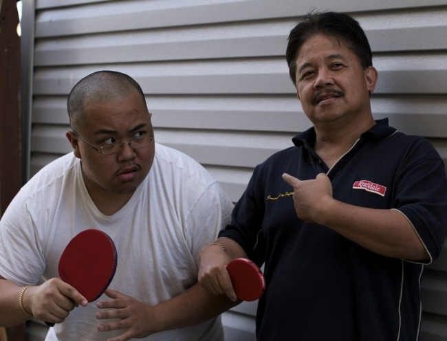 Holding the paddle correctly can seriously improve your ping pong