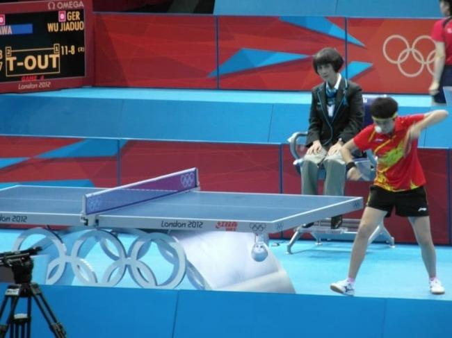 Table Tennis At The Olympics London 2012 Mens Singles Preliminaries