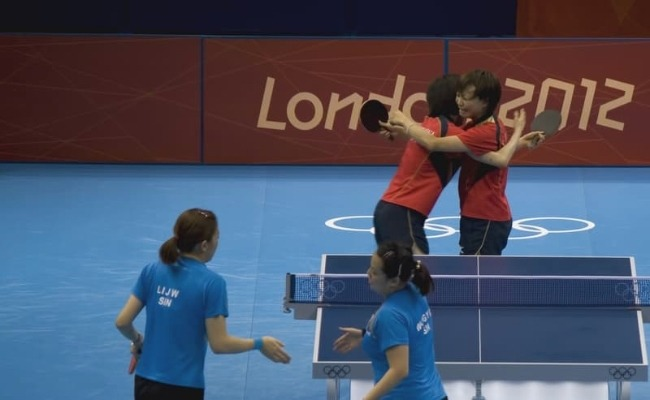 Table Tennis At The Olympics London 2012 Womens Doubles China