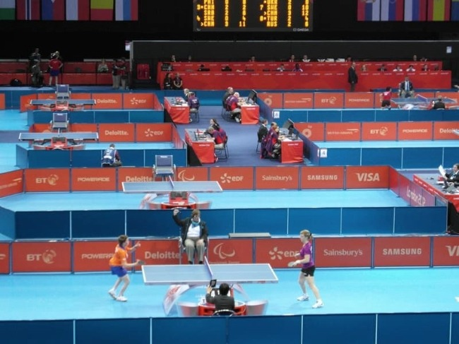 Olympics Table Tennis Prelimiary Rounds Tables