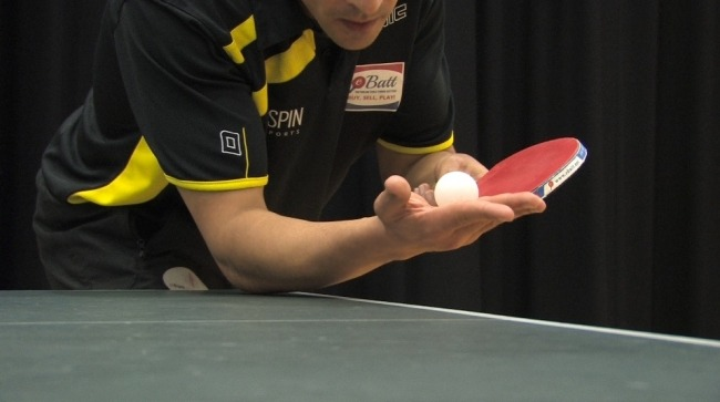 The Punch Table Tennis Serve coaching tip by Eli Baraty ping pong serve