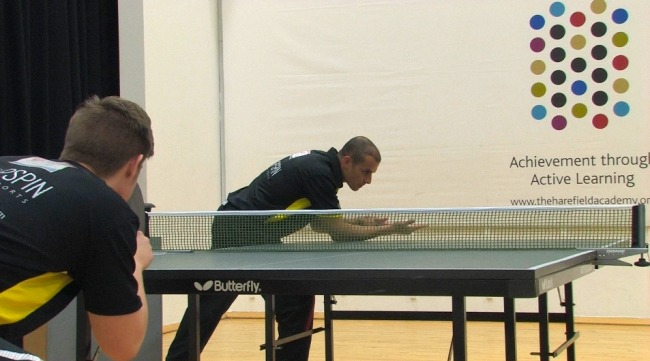 How To Do A Jab Serve in Table Tennis - Coaching Tip