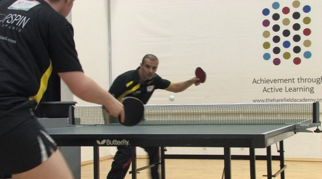 Ping Pong Table Tennis Coaching tip by Eli Baraty