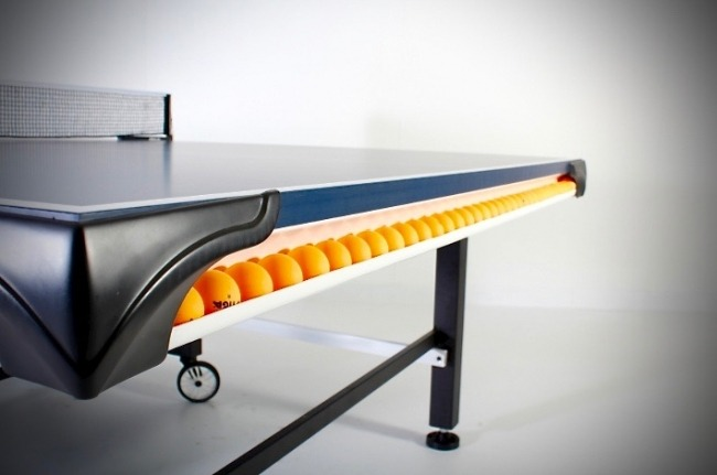 Stiga STS 520 ping pong table review ball Storage Solution